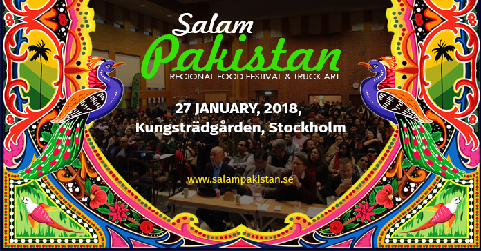 Salam Pakistan 2018 - Kungsträgården